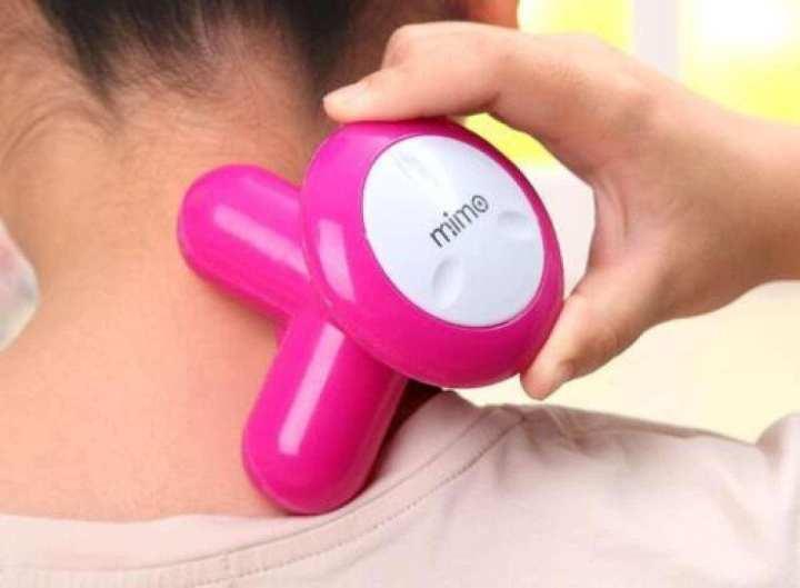 Operated Massage Tool Mini Massager Electric Wave Vibrating Full Body Massage