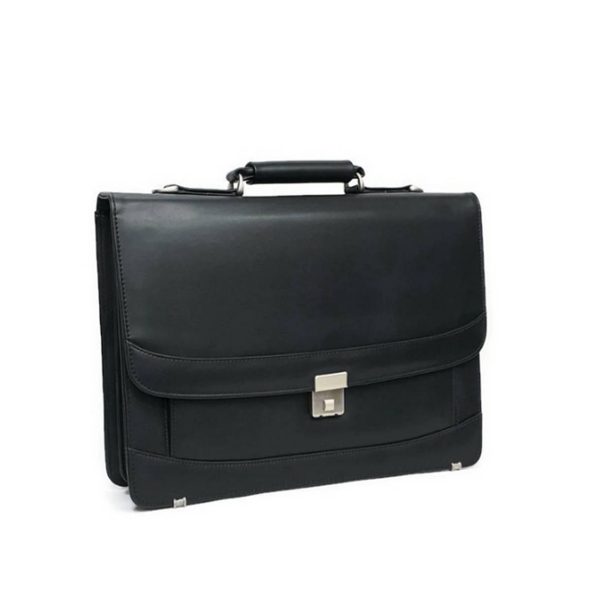Synthetic Leather Mens Executive NOVA Office File Bag/Travel Bag