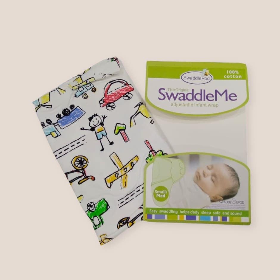 Cotton Swaddle Wrap For Infants