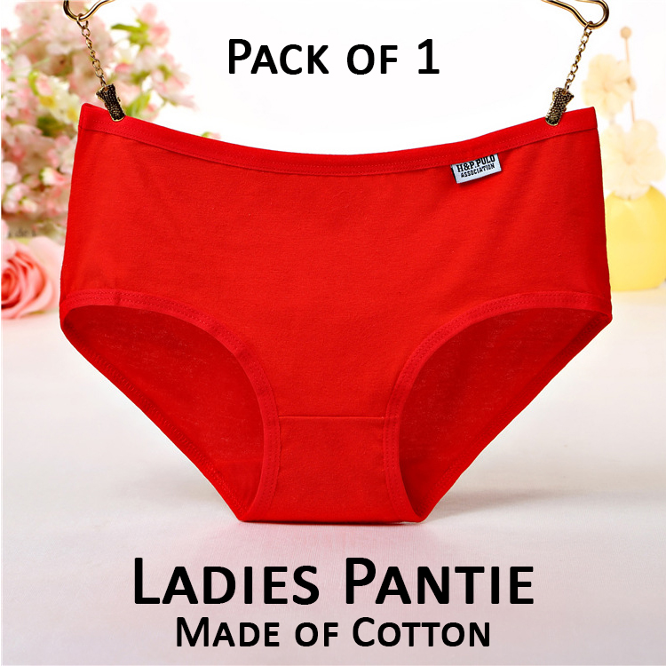 Packs of 1-3-4-5 Cotton Underwear for Ladies Panties For Women Undergarments Seamless Panty for Periods and Casual Wear in Plus Sizes
