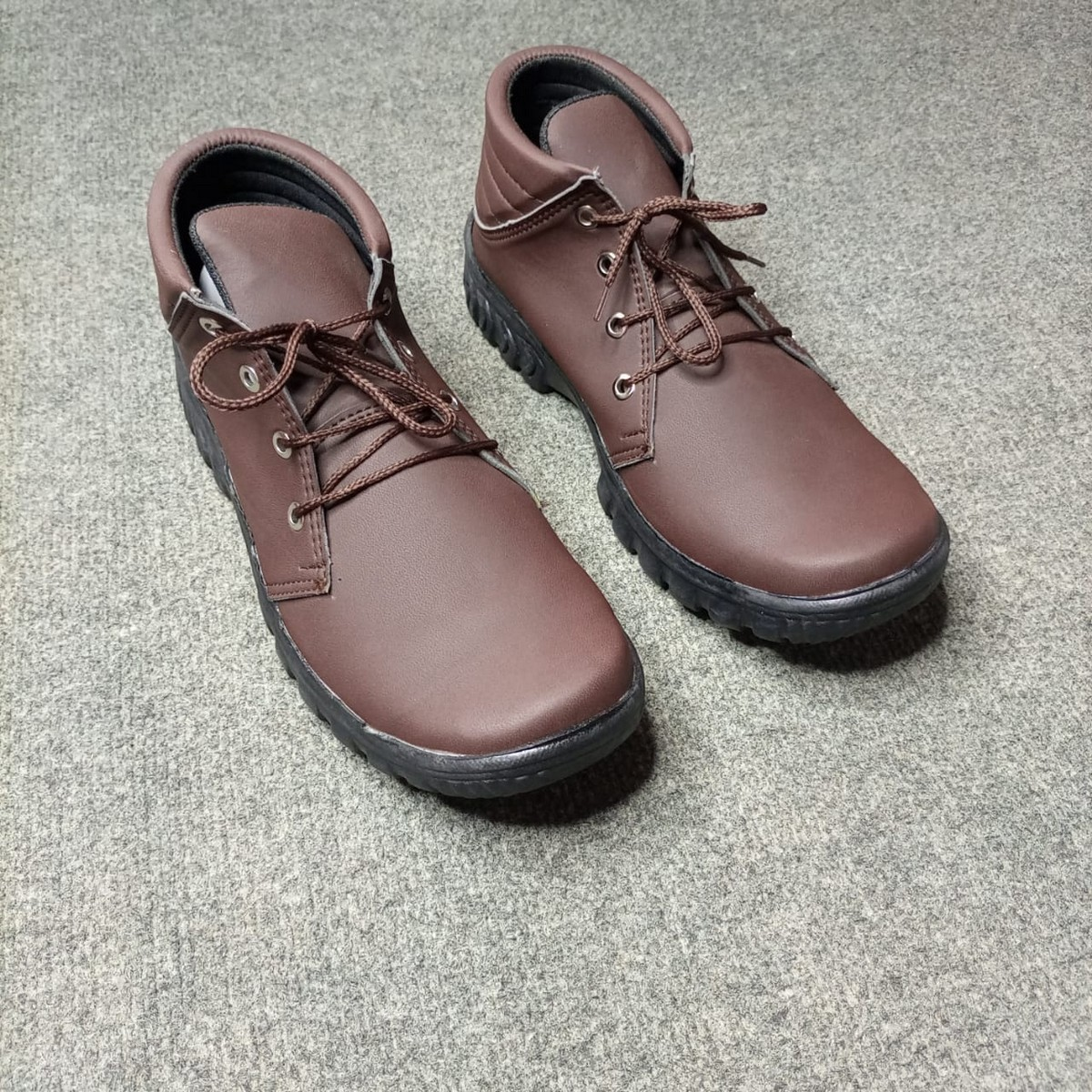 (MK) - Brown Daily Use Long Shoes for Men CTBL1