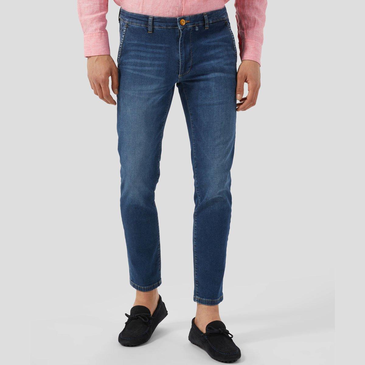 Men Blue Denim Jeans Fashion and Party Jeans Pant