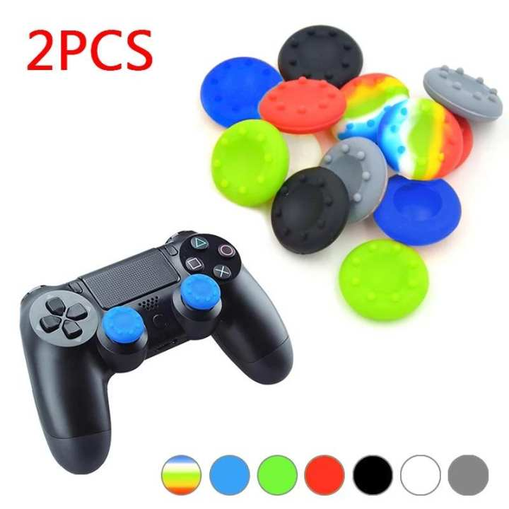 Controller Grips Cap Cover 2 PC's For PS4 PS3 Xbox 360