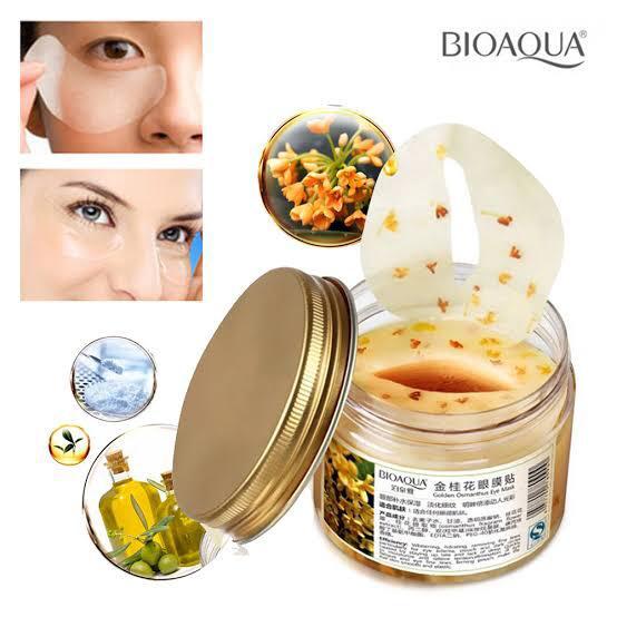 Bioaqua eye pad/mask for skin care