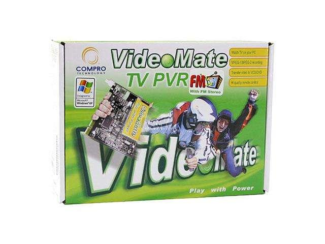 COMPRO VideoMate TV PVR FM Tuner Card PCI BRAND NEW BOX PACK