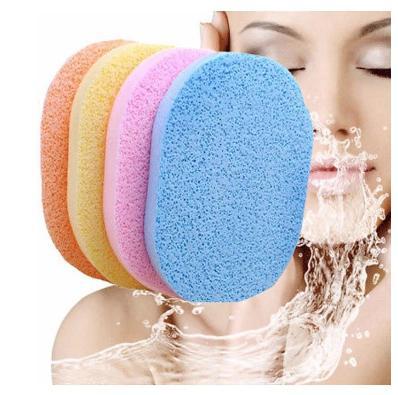 2pcs Facial puff Face Deep Cleaning Washing Sponge Makeup Foundation
