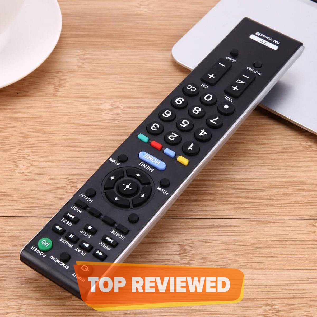 Universal Remote For Sony Led & Lcd Tv - Black Work all model LCD and LED TV Old and New Rm-D764