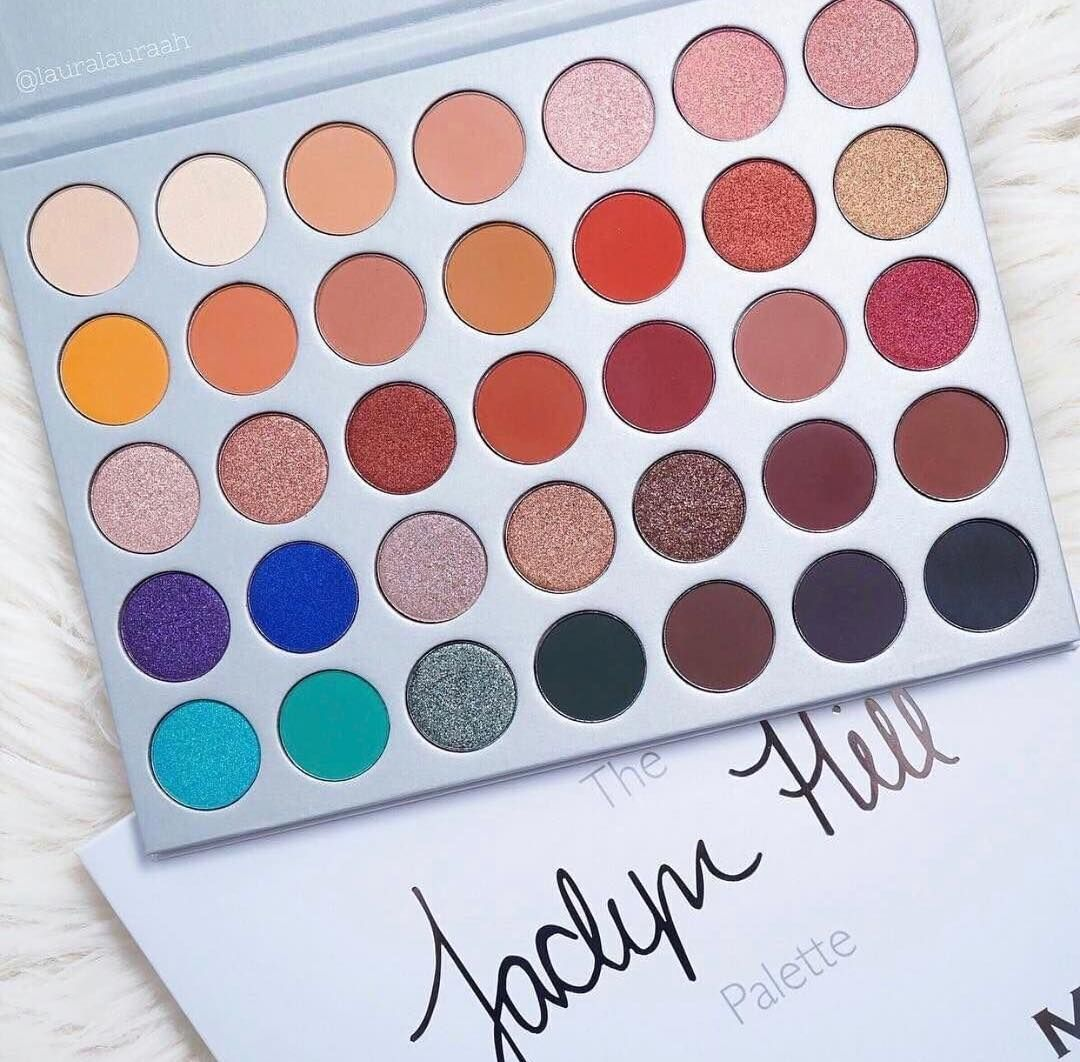 35 Colours Eyeshadow Palette - Imported Multicolour Branded Eyeshadow Palette - 35 Multicolor Eyeshades - 35 Colours Eyeshadow Kit - Make Up Kit - Jaclyn Hill Original Palette 35 Unique Colours - Vibrant - Smooth - Glittery - Matte Makeup Accessories