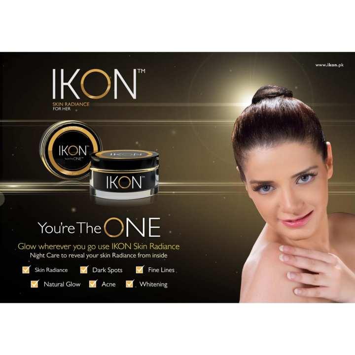 IKON Skin Radiance Whitening Night Cream For