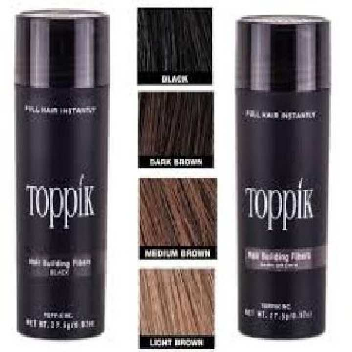 Original Toppik Hair Fiber -27.5 GRAM - Medium brown