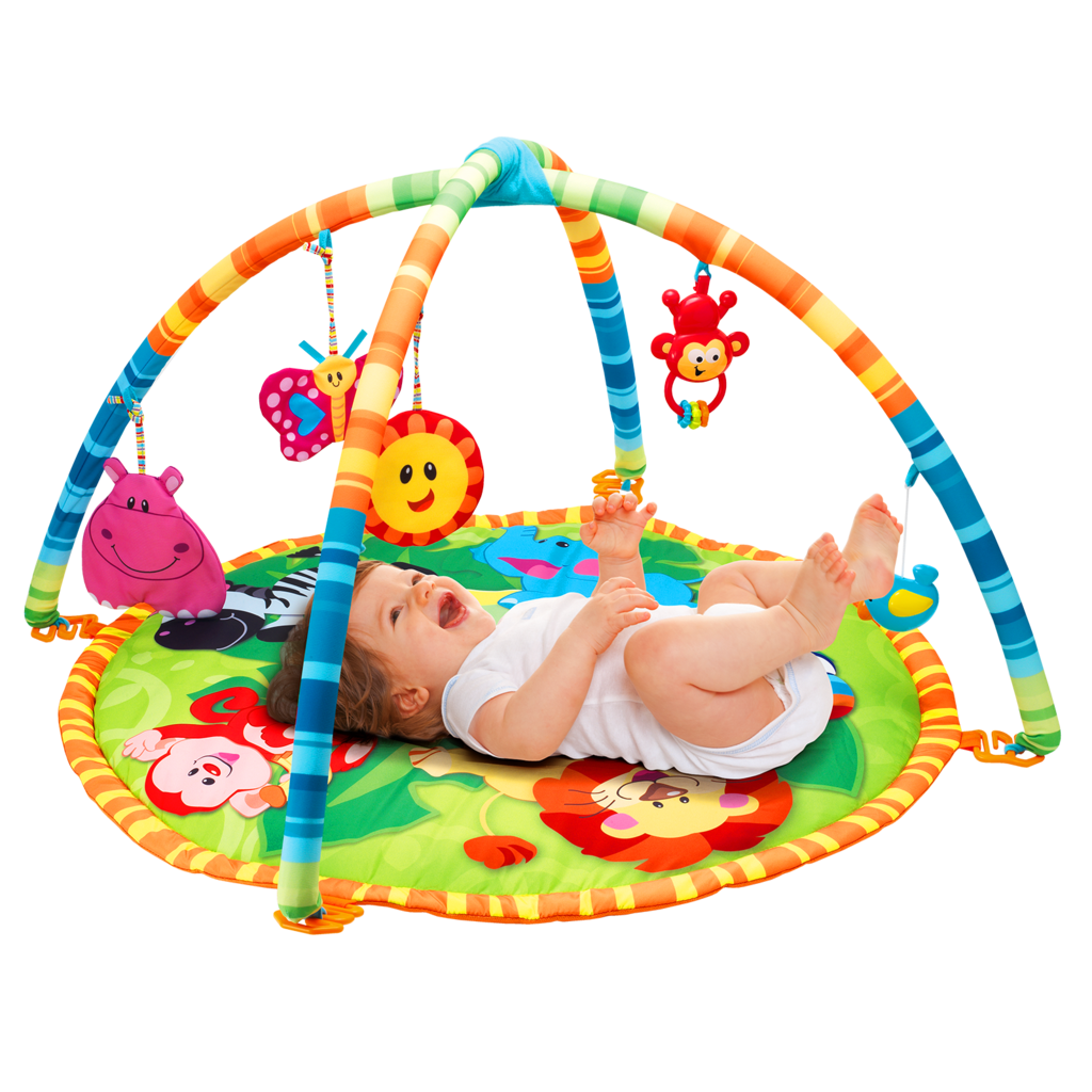 Baby Play gym Mat with Hanging Toys