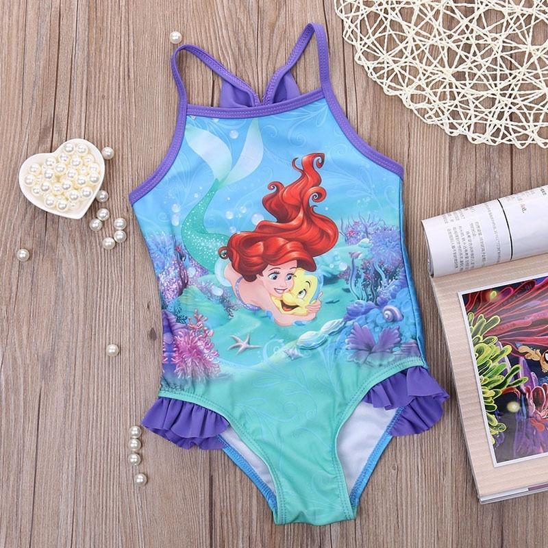 78ade9d6c48 Girl Mermaid Swimwear Bikini Swimsuit Swimming Costume Bathing Suit