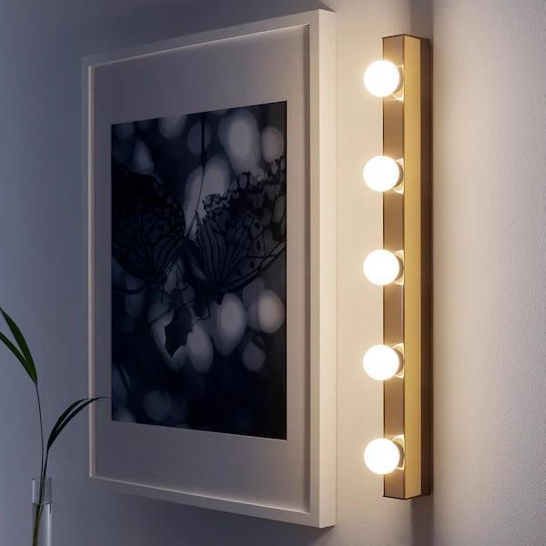 Ikea Wall Lamp Light Led Bulb, Ikea Bathroom Vanity Lights