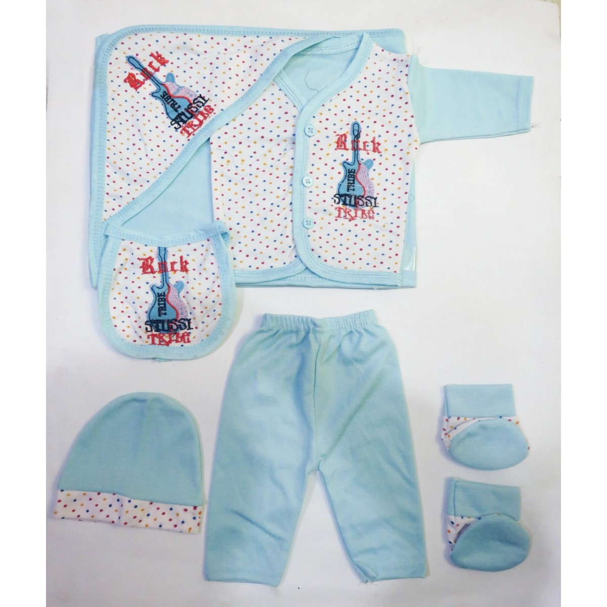 New Born Baby Clothe Guitar Design