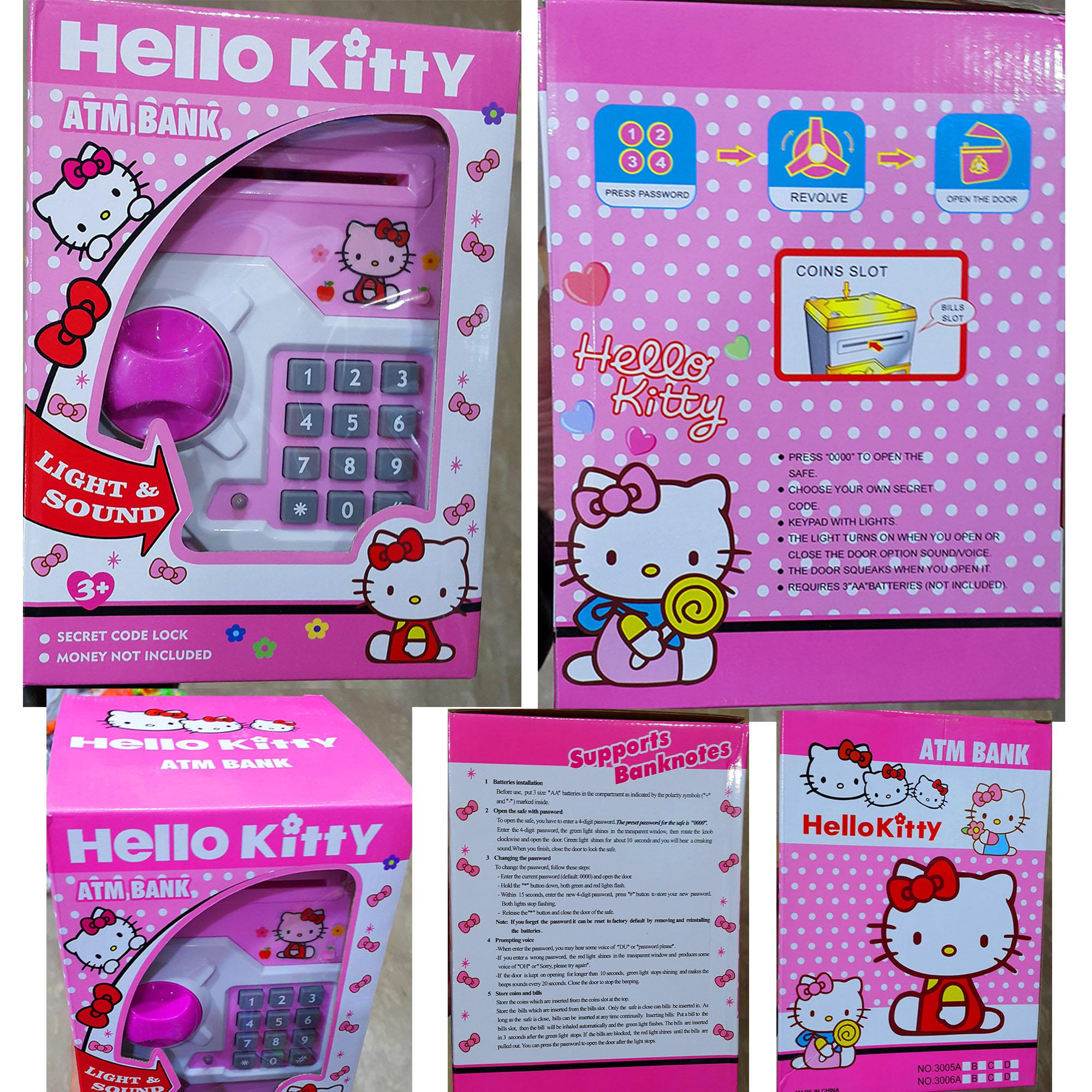 443819d62 Premium Hello Kitty Light & Sound Electronic ATM/Piggy Bank For Savings -  HKPB
