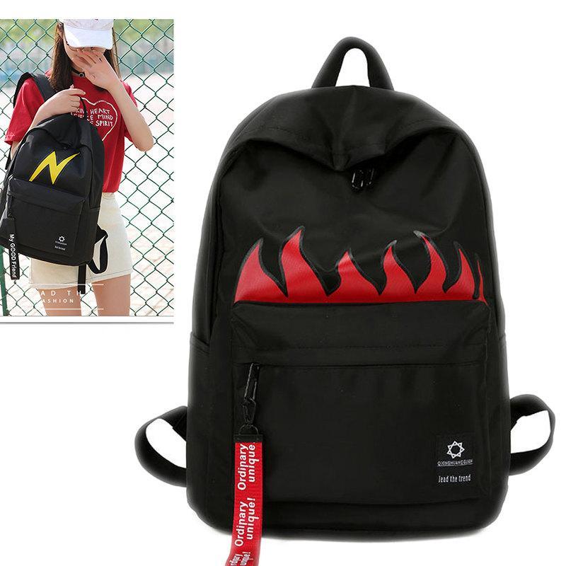 aa849736b1da New Shoulder Bag Male Student Japanese And Korean College Wind Junior High  School Female Backpack Tide