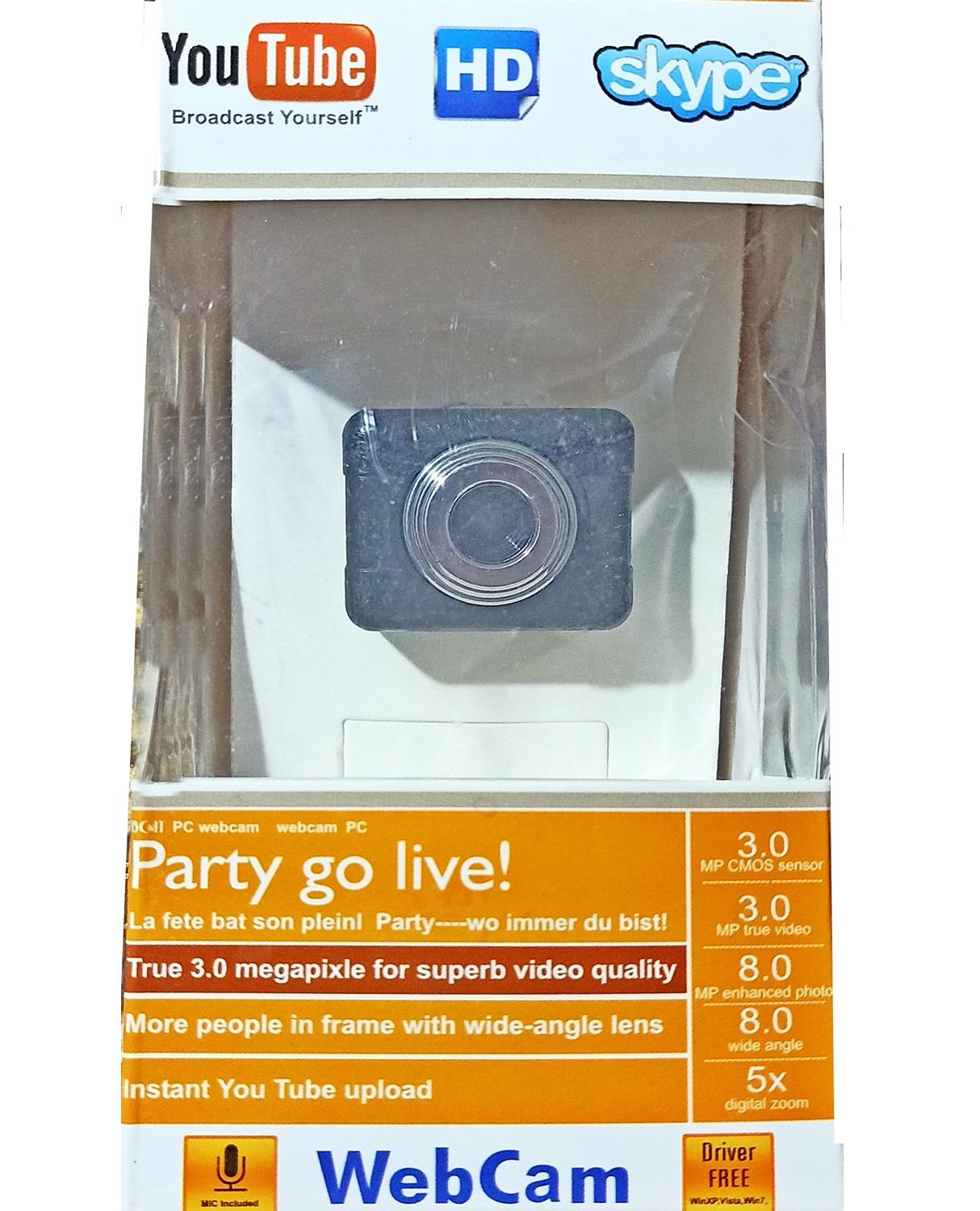 USB Camera for PC/Laptop High Quality - 1300K Pixel