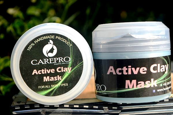 ACTIVE CLAY MASK - Softer, Smother & Glowing Skin