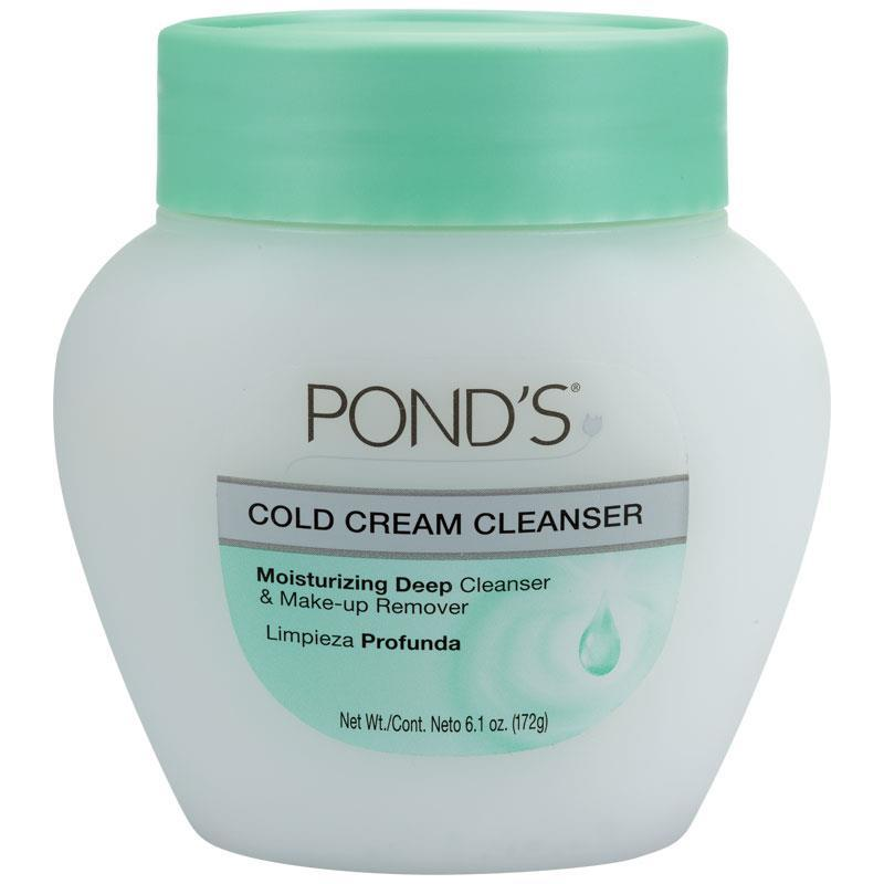 Ponds Cold Cream Cleanser Makeup