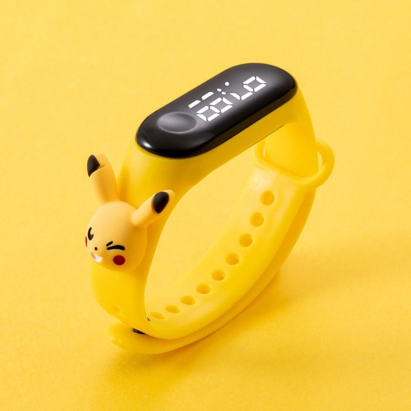 Cartoon strap Waterproof Kids Boys Girls Digital LED Sports Wrist Watch With Touch