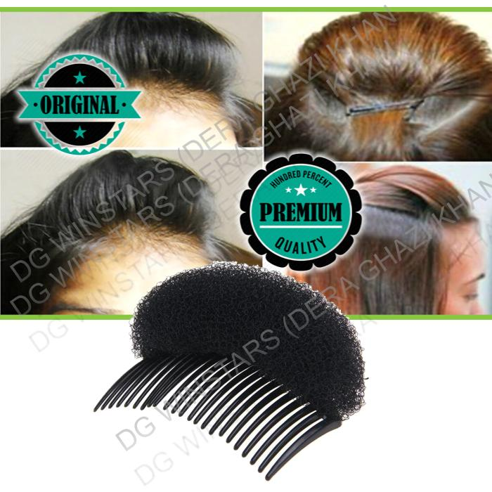 Hair Puff Maker Comb Sponge Hair Make Pad Comb hair Hair Puff Hairstyle Device Hair Ponytail Comb Styling Tools Hair Styling Clip Stick Bun Maker Braid Tool Hair Accessories
