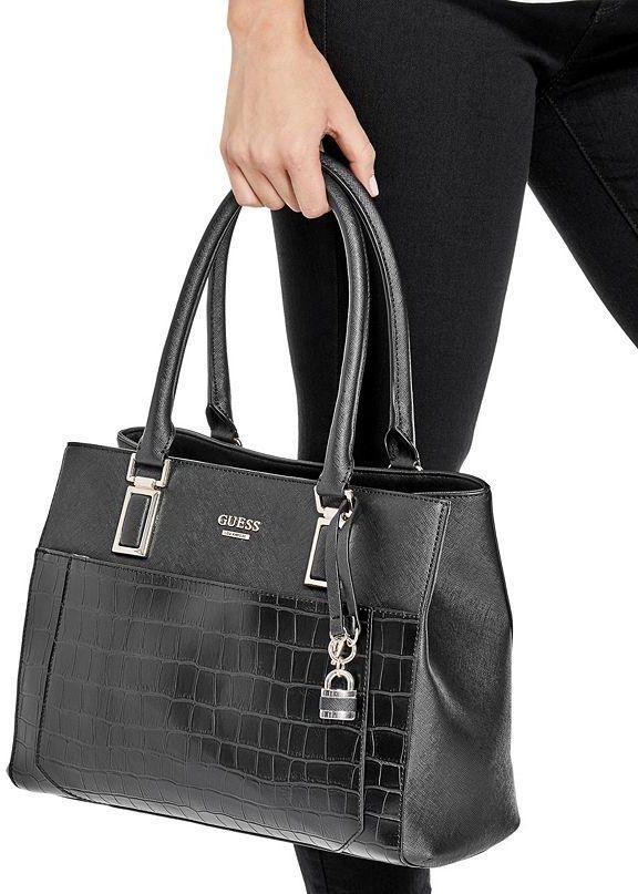 Guess Women s Lambert Girlfriend Satchel Bag - Black  Buy Sell Online    Best Prices in Pakistan  b181479a81b41