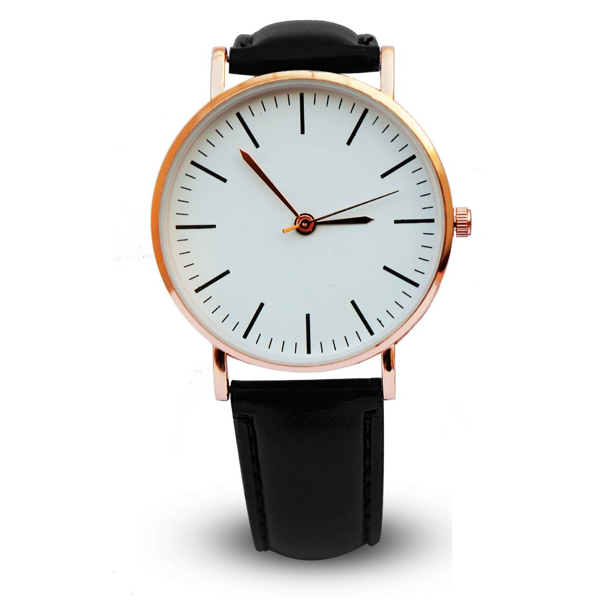 classic design analog watch leather strap watches in nice packaging watch for man / boys / girls