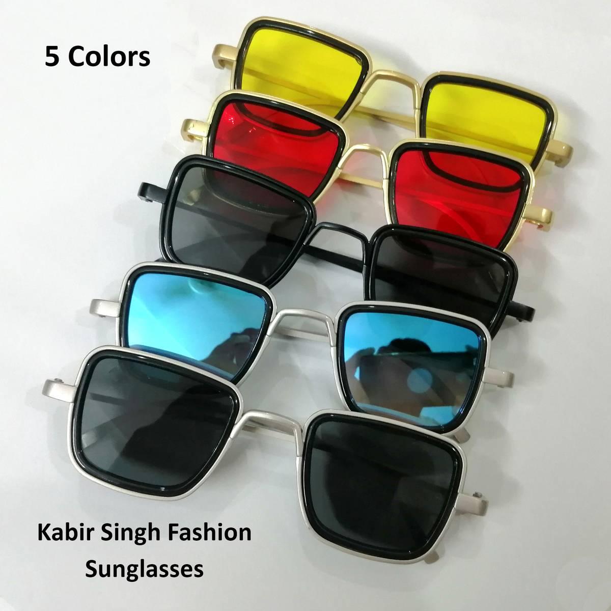 Square Shape Sun Glasses For Men in Kabir Singh Sunglasses