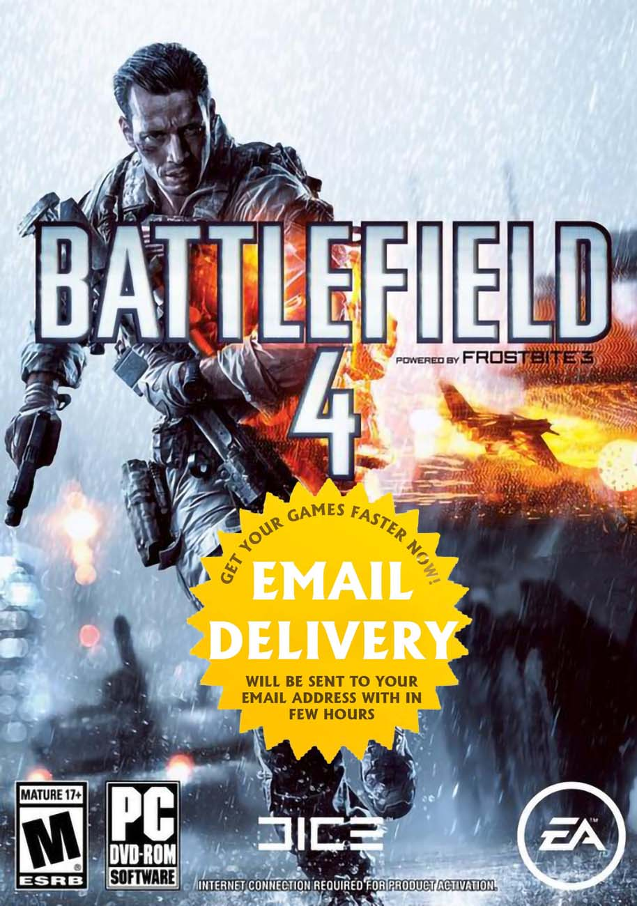 Battlefield 4 PC Origin Game Key Email Delivery