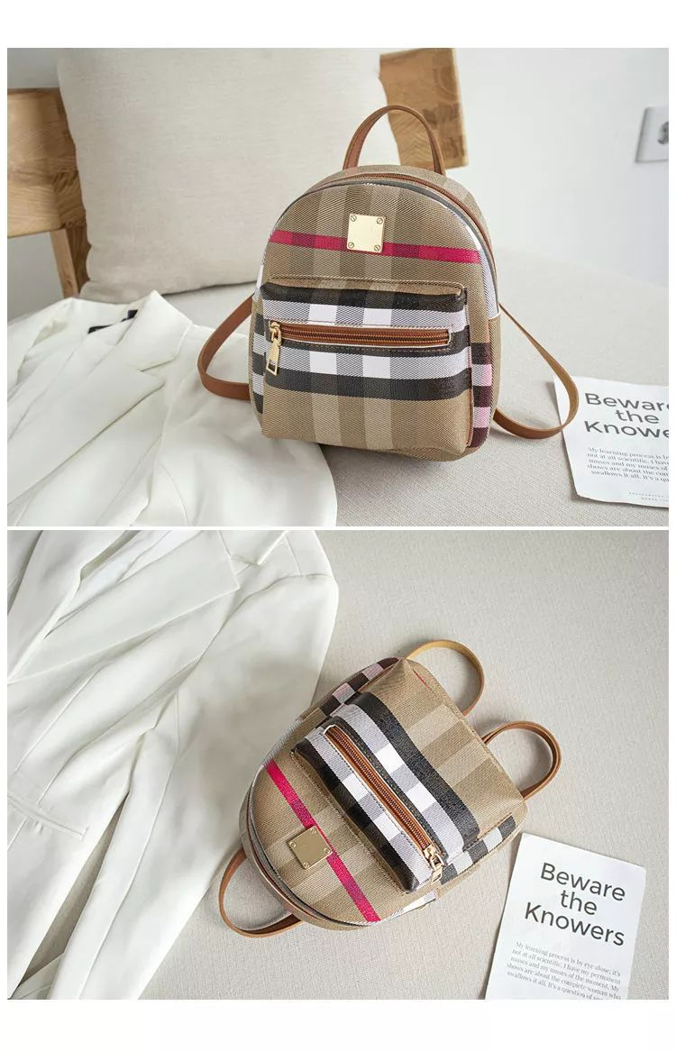 Pu Leather 3 Styles use Mini Backpack for Girls