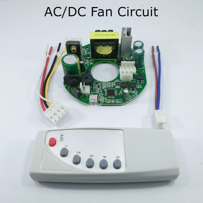 Ac Dc 45w Pcba For Ceiling Fan Circuit Kit Module Remote Buy Online At Best Prices In Pakistan Daraz Pk