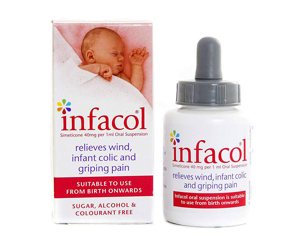 Feeding 3 Packs X Infacol Colic Relief Suspension 50ml Soft And Light