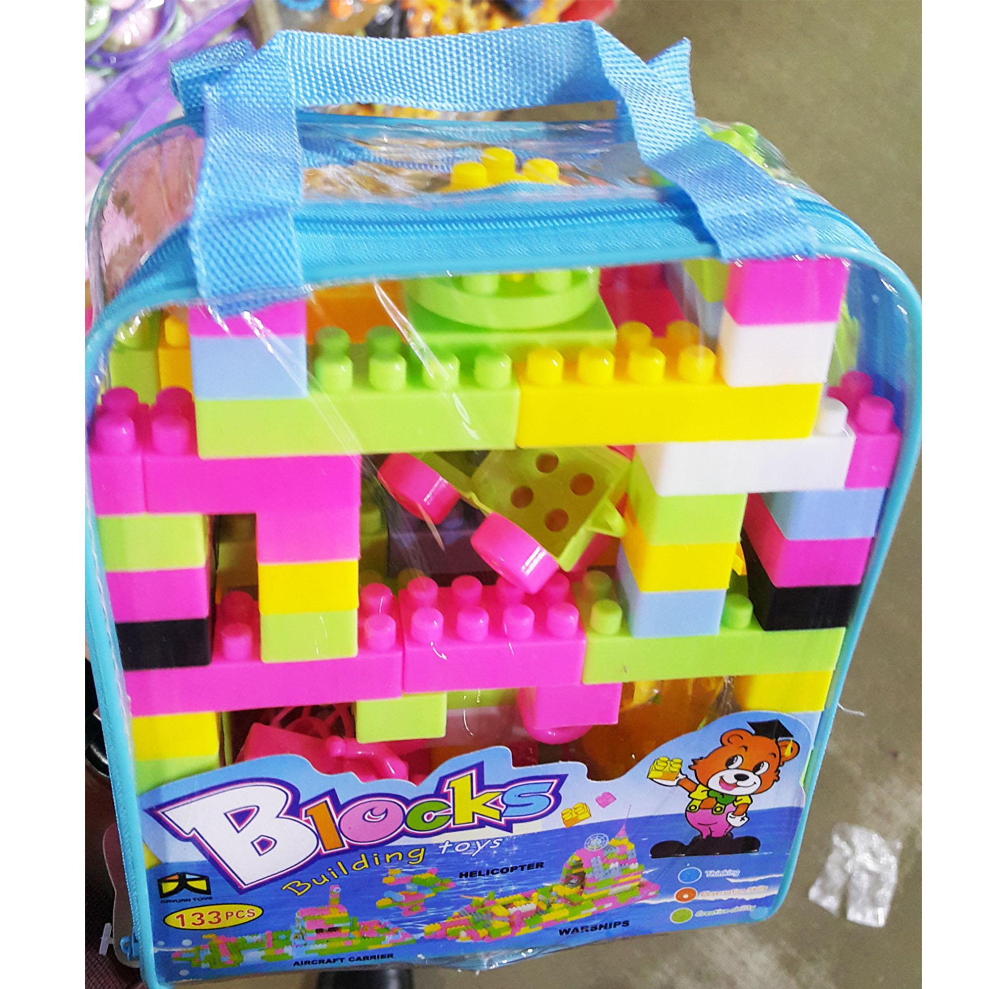 [Promotion Sale] 133 pcs Building Block kids educational toy