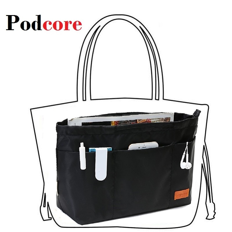 Purse Insert Organizer Nylon Large Tote Bag Organizer Insert Handbag  Women's Handbag Organizers Neceser Maquillaje Mujer: Buy Online at Best  Prices in Pakistan | Daraz.pk