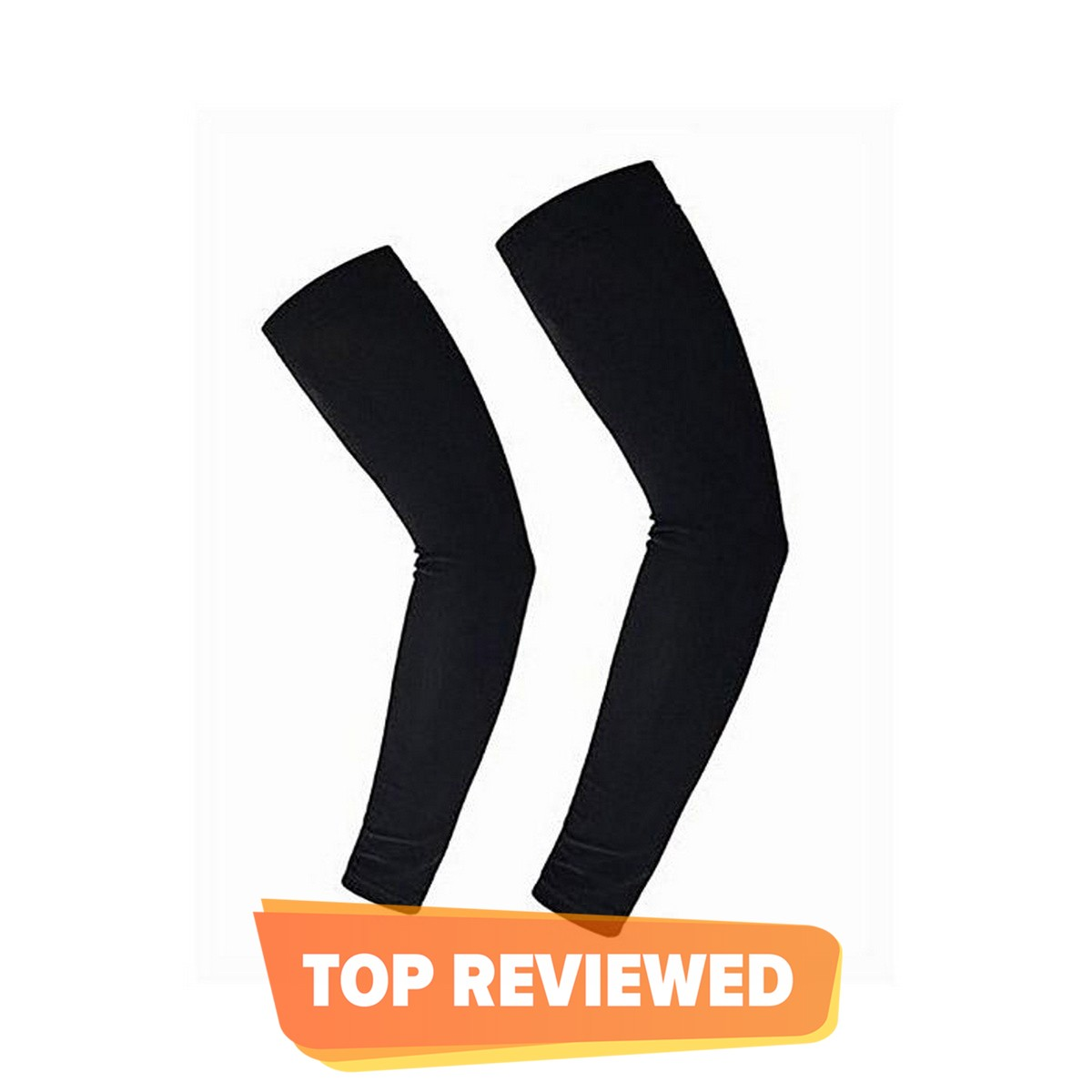 Sports Arm Sleeves Pair - Black Cycling Sleeves Quick Dry UV Protection Fishing Volleyball Running Arm Sleeves Women's Sports Set Arm Warmers Compression Sleeve