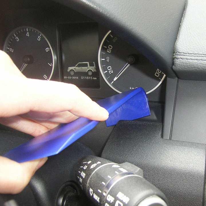 JO T4 Auto Vehicle Car Door Clip Panel Trim Dash Installer Removal Tools - blue