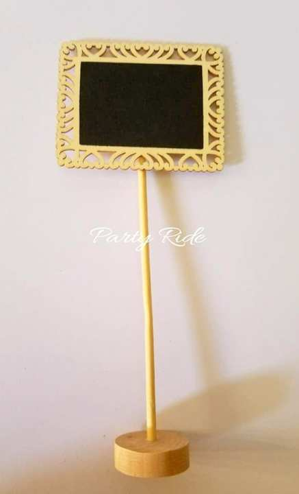 Wooden Chalkboards- 3 pcs- medium size- Iftar party menu