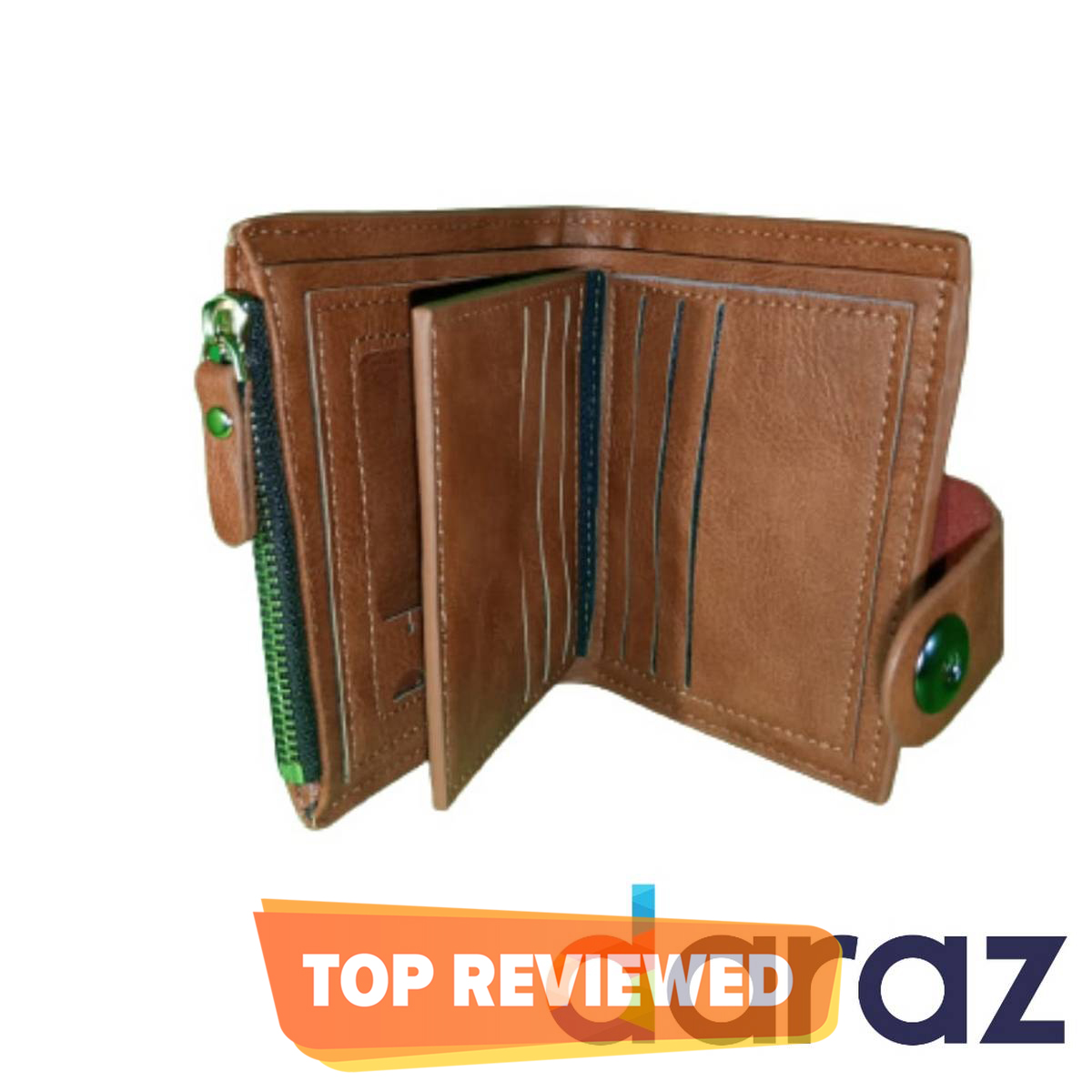 PU Soft Leather Wallet for Men (High Quality) – Pocket Friendly - Multi Purpose Pockets– Card Holder Pockets – Stylish Wallet for Men Original Leather