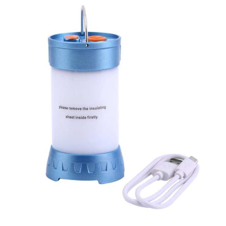 TE Waterproof USB Charging Protable LED Outdoor Camping Lamp Emergency Lighting