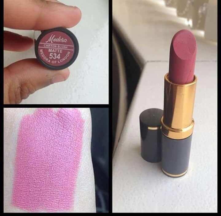 Medora Lipstick - Matte Chiffon Blush 534