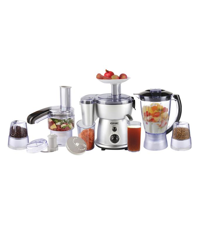 Food Processor 9in1- Gn-921dlx - Silver With Black (brand Warranty)