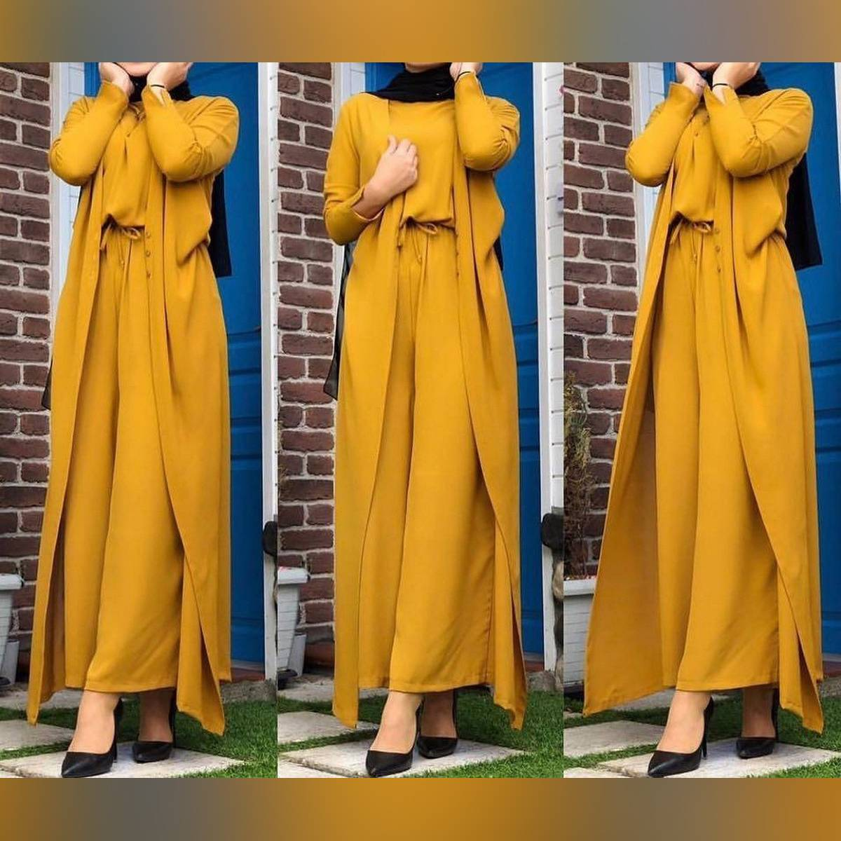 Knot Style Jumpsuit With Gown