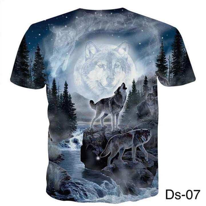 Digital Print T-shirt