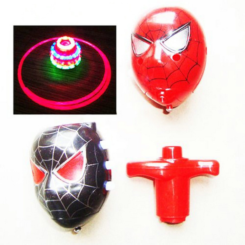 UFO Spinning Top Set with 3D Light and Music For kids