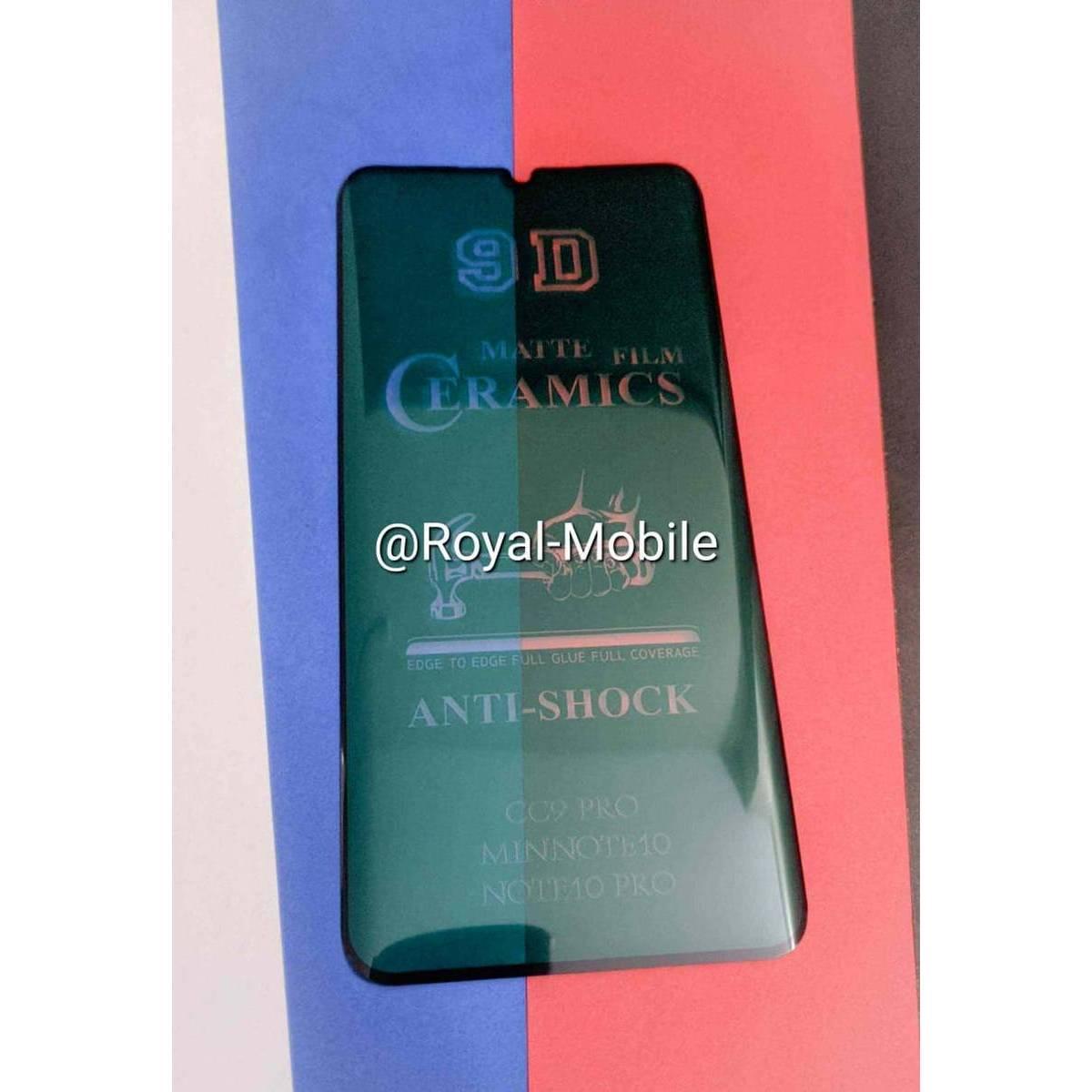 Mi Note 10 Lite Ceramic Matte Protector
