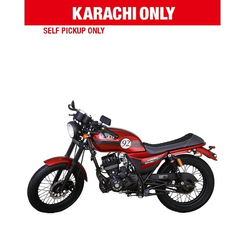 Hi Speed Infinity 150cc - Red (Karachi Only)