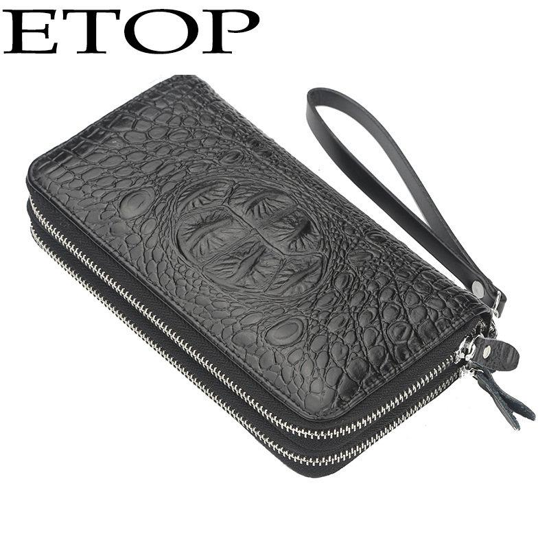 910dfaba65ff Men Wallet Business Double Zipper Large Capacity Hand Bag Casual Multi-Card  Change Bag Wallet Women Wallets Men Wallets Wallet Men Purse Coin Purse ...