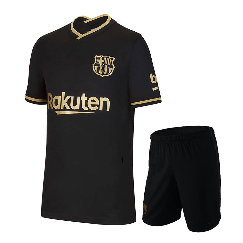 Barcelona Football Away Kit 2020/21 - Black