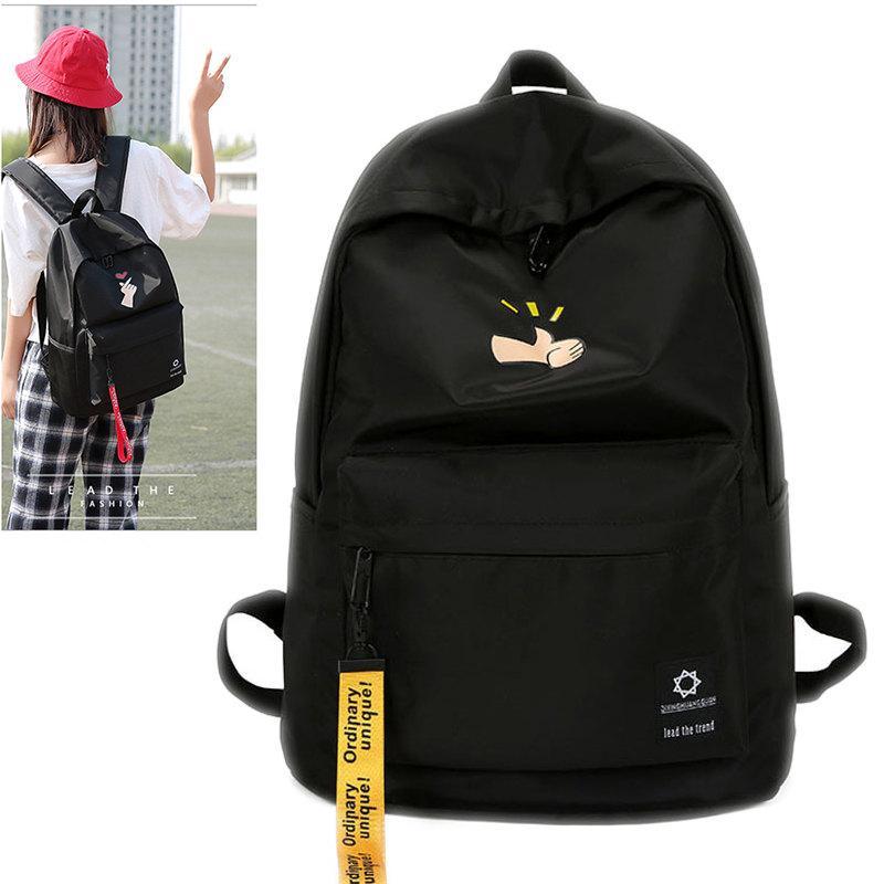New Shoulder Bag Male Student Japanese And Korean College Wind Junior High  School Female Backpack Tide 9099921cda7d7
