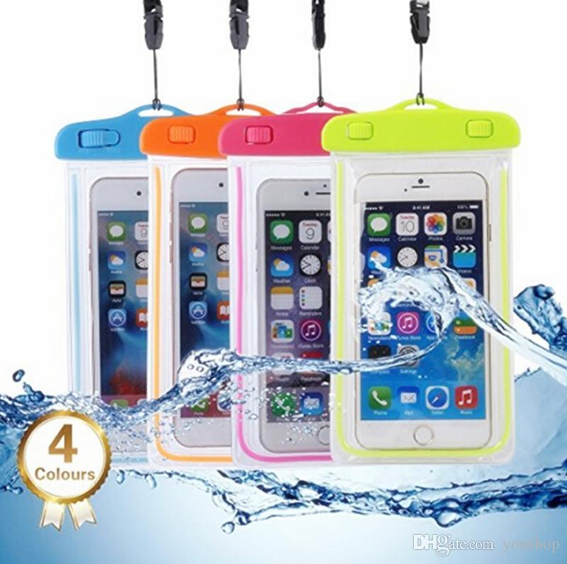 Universal Water Proof Mobile Pouch - Transparent